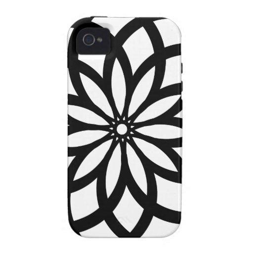 Flor de la vida (extracto) iPhone 4/4S carcasa