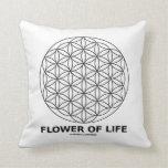 Flor de la vida (geometría sagrada) almohada
