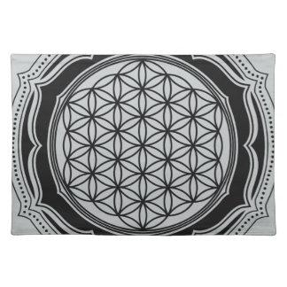 Flor de la vida, geometría sagrada, símbolo manteles