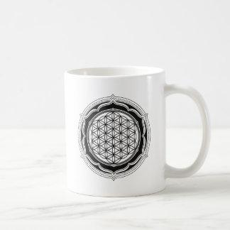 Flor de la vida, geometría sagrada, símbolo taza clásica