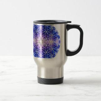 Flor de la vida taza térmica