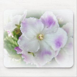 Flor de la violeta africana tapete de raton