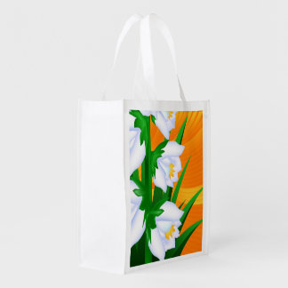 Flor de la yuca bolsas de la compra