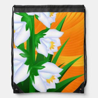 Flor de la yuca mochila