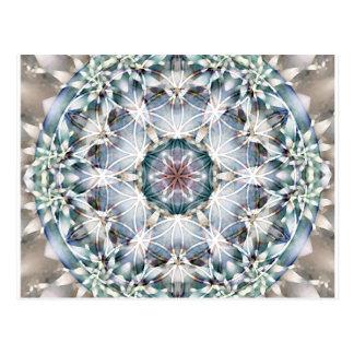 Flor de las tarjetas de la mandala 1 de la vida tarjetas postales