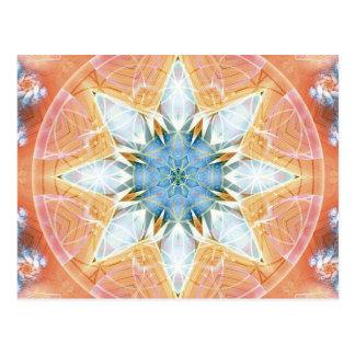 Flor de las tarjetas de la mandala 3 de la vida tarjetas postales