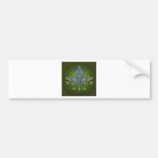 Flor De Lis 2.png Bumper Sticker