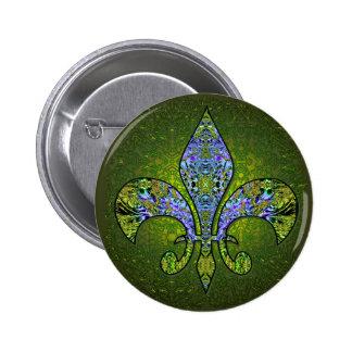 Flor De Lis 2 png Button