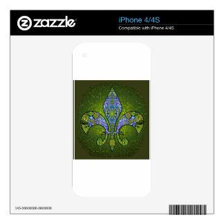 Flor De Lis 2.png iPhone 4S Skins