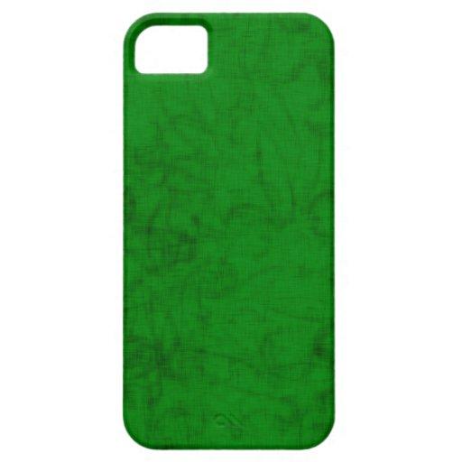 Flor de lis abstracta (verde) funda para iPhone SE/5/5s