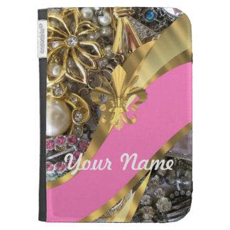 Flor de lis bling del oro