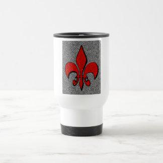 Flor-De-Lis,crest,flower-lily,dynastic,coat-of-ar Travel Mug