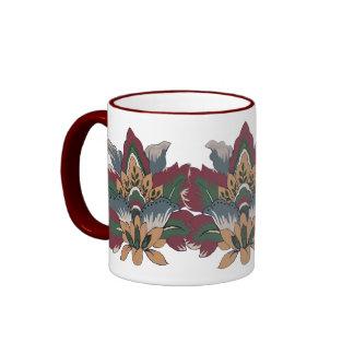 Flor de lis de julios taza a dos colores