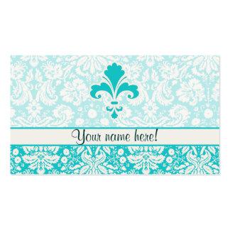 Flor de lis del trullo tarjetas de visita