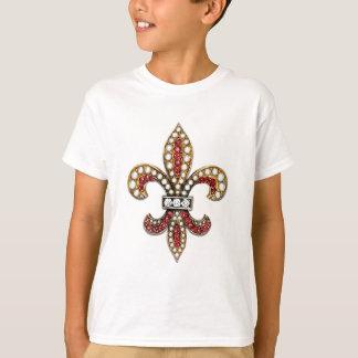 Flor De Lis Fleur De Lis Jewel new orleans T-Shirt
