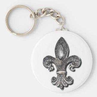 Flor De Lis Fleur De Lis symbol new orleans Keychain