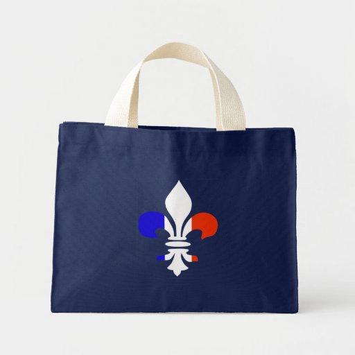 Flor de lis francesa - la bolsa de asas
