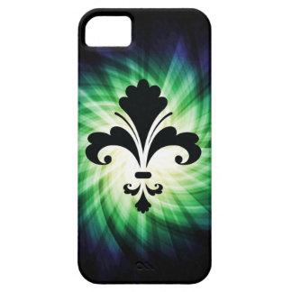 Flor de lis; Fresco iPhone 5 Case-Mate Coberturas