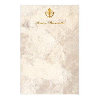 Flor de lis papelería de diseño