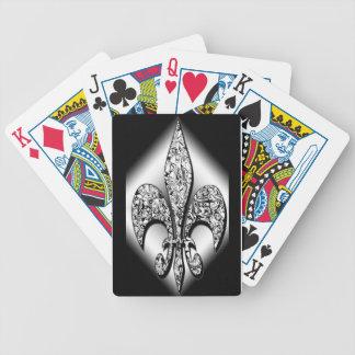 Flor-De-Lis playing cards