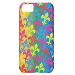 Flor de lis por completo. funda para iPhone 5C