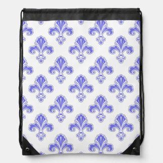 Flor de lis púrpura y blanco violetas