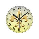 Flor de lis relojes