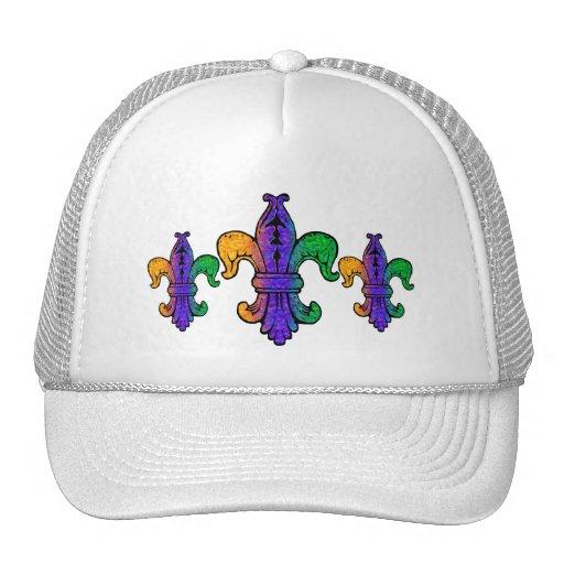Flor de lis tres gorras