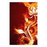 Flor de llama 01 papeleria personalizada