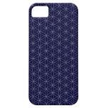 Flor de los azules marinos de la vida funda para iPhone SE/5/5s