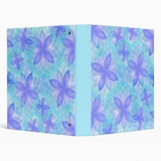 Flor de loto abstracta de la carpeta