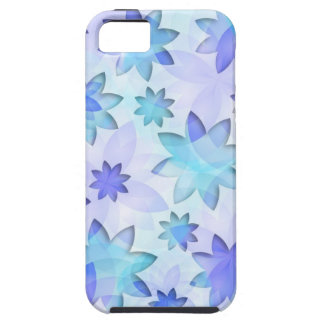 flor de loto abstracta del caso del iPhone 5 iPhone 5 Carcasas