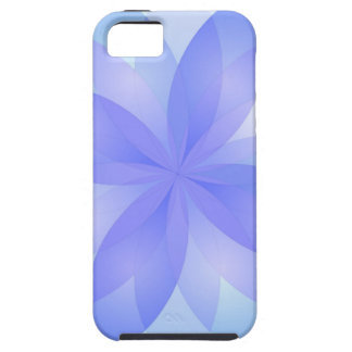 flor de loto abstracta del caso del iPhone 5 iPhone 5 Funda
