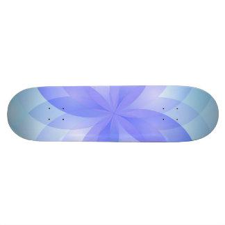 Flor de loto abstracta del monopatín patin personalizado