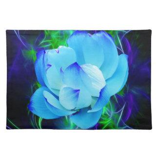 Flor de loto azul y su significado manteles
