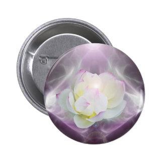 Flor de loto blanco pin