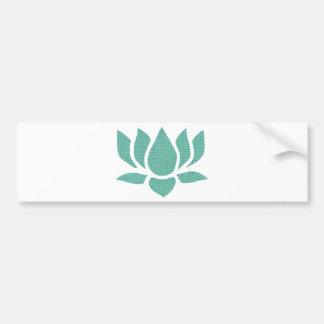 flor de loto pegatina para auto