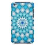 flor de loto del extracto de la mandala del caso d iPod touch fundas
