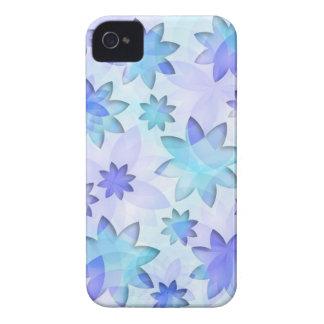 flor de loto del extracto del caso del iPhone iPhone 4 Case-Mate Coberturas