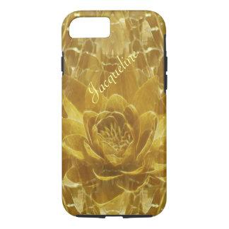 Flor de loto del oro Jacoba Funda iPhone 7
