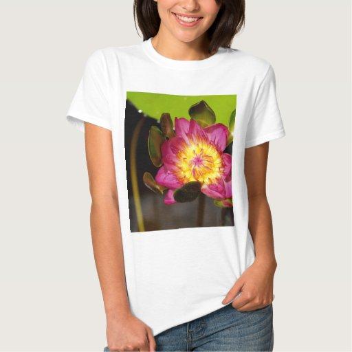 flor de loto playera