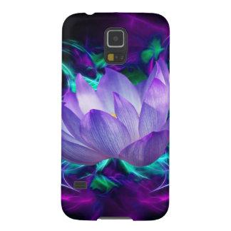 Flor de loto púrpura y su significado carcasas de galaxy s5