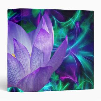 """Flor de loto púrpura y su significado carpeta 1 1/2"""""""