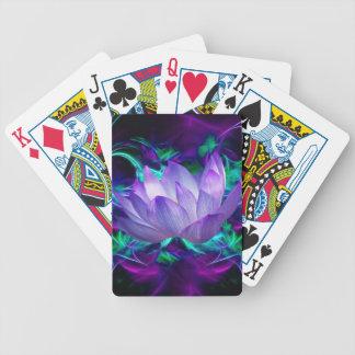 Flor de loto púrpura y su significado barajas de cartas