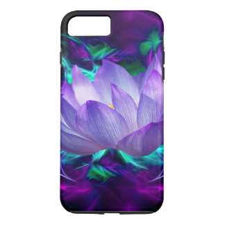 Flor de loto púrpura y su significado funda iPhone 7 plus