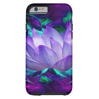 Flor de loto púrpura y su significado funda resistente iPhone 6
