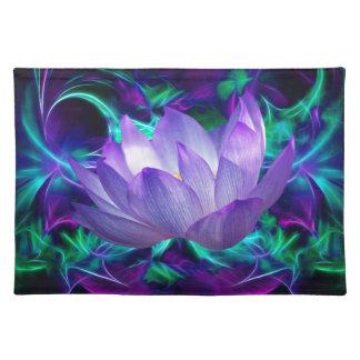 Flor de loto púrpura y su significado manteles