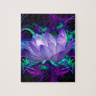 Flor de loto púrpura y su significado rompecabeza