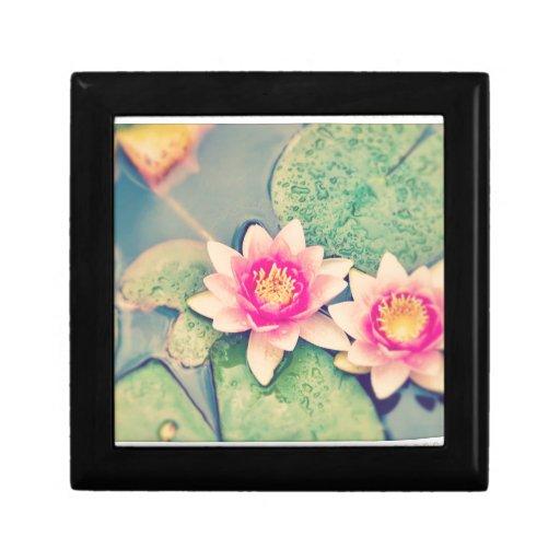 Flor de Lotos Caja De Regalo