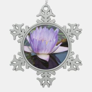 Flor de Lotus Adorno De Peltre En Forma De Copo De Nieve